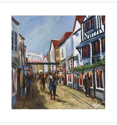 Stonegate, York by John Bird