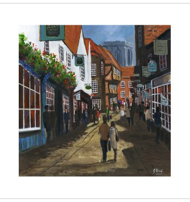 Shambles, York by John Bird