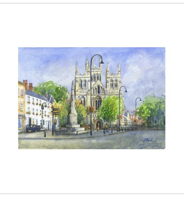 Selby Abbey by John Bird
