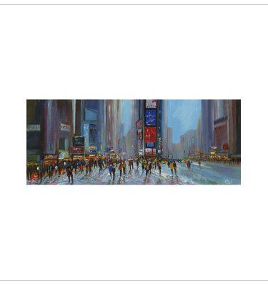 Times Square by John Bird