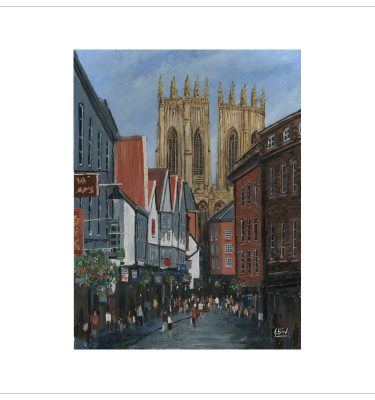 Petergate, York by John Bird