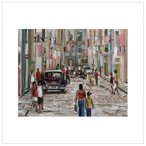 Back Street Havana by John Bird