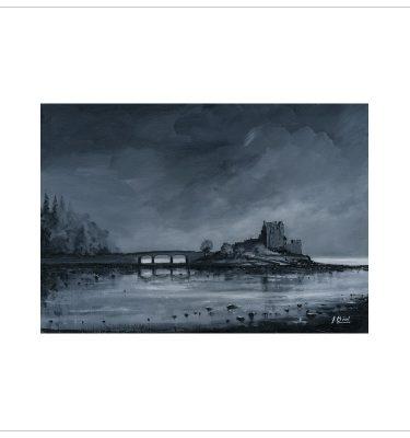Eilean Donan Castle by John Bird