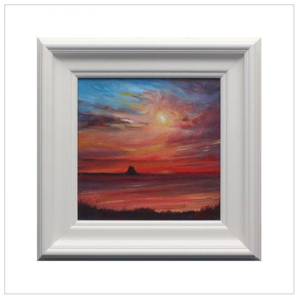 Sunset, Holy Island by John Bird