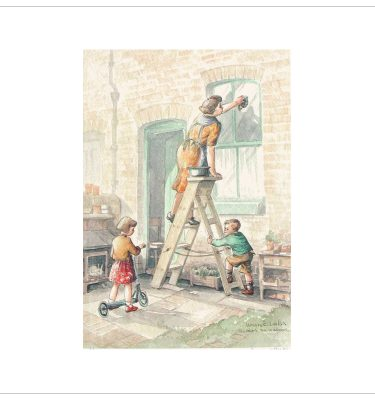 Doing The Windows By Margaret Clarkson