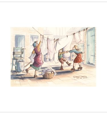 In The Wash By Margaret Clarkson