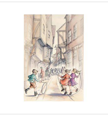 York Races By Margaret Clarkson