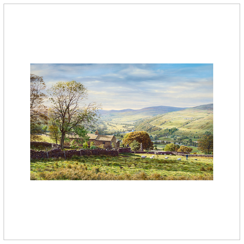 Swaledale, Yorkshire Dales By Keith Melling
