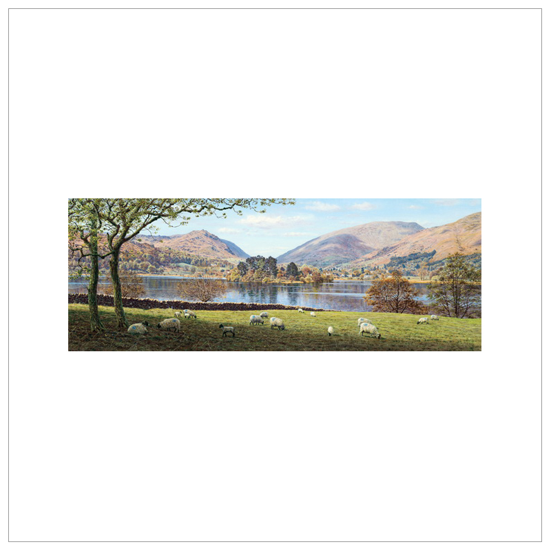 Grasmere From Dale End By Keith Melling