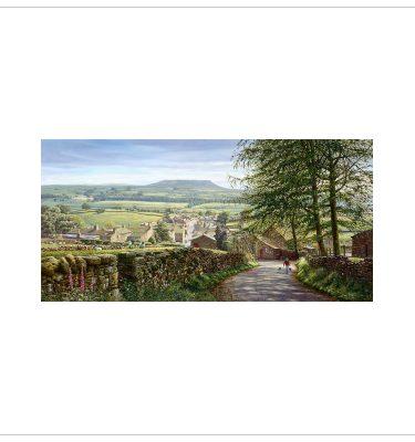 Askrigg, Wensleydale By Keith Melling