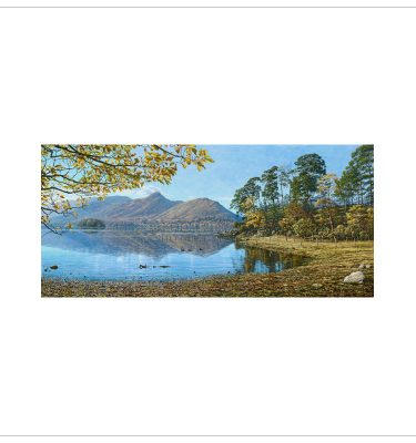 Across Derwentwater To Cat Bells By Keith Melling
