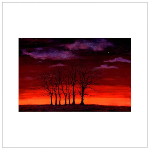 Seven Trees By Keith Melling