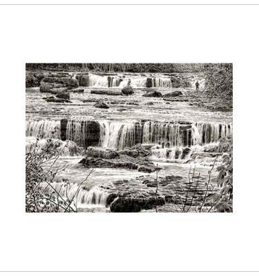 Aysgarth Falls By Keith Melling