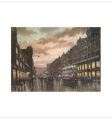 Deansgate, Manchester 1935 By Steven Scholes