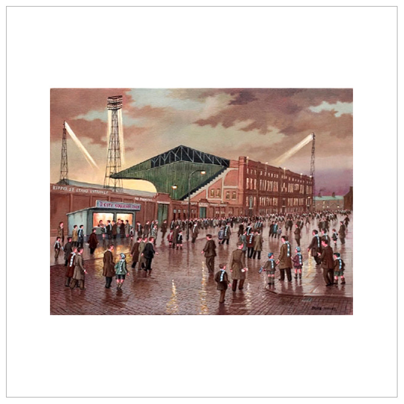 Late Kick Off - Manchester City By Steven Scholes