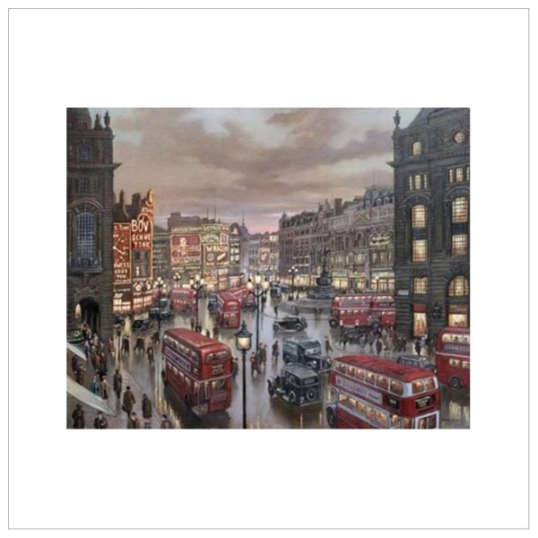 Rush Hour - London Piccadilly By Steven Scholes