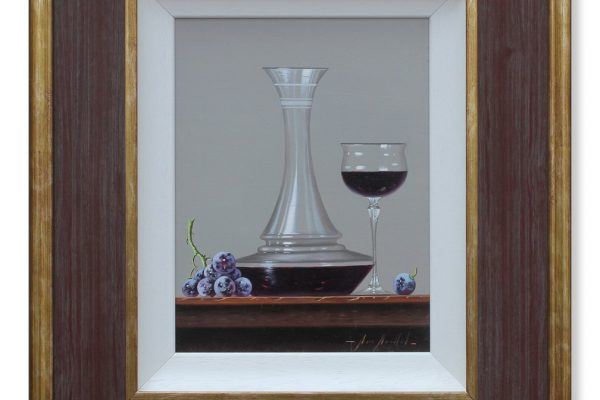 159mm011 - still life - decanter - lge