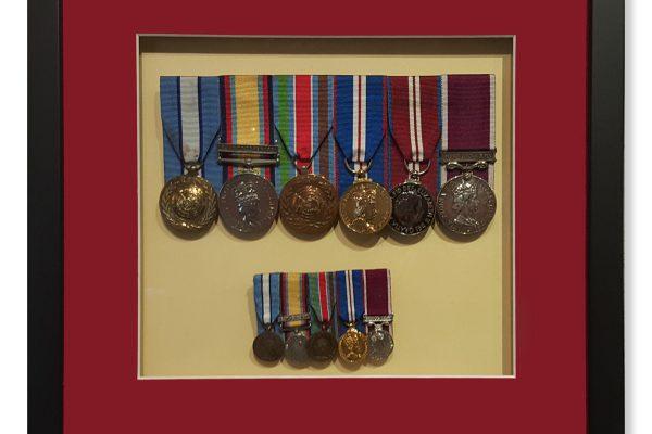 Framed Medals 2