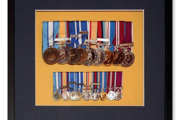 Framed Medals 3