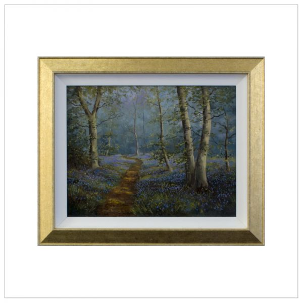 Bluebell Wood By John Wood