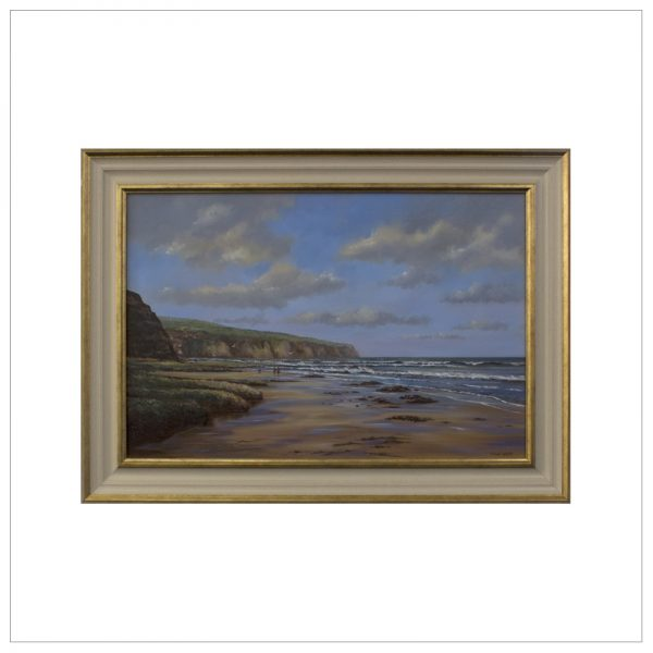 The Beach Robin Hoods Bay By John Wood