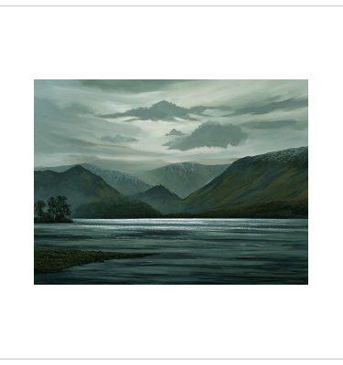 Tranquility, Derwentwater by John Wood