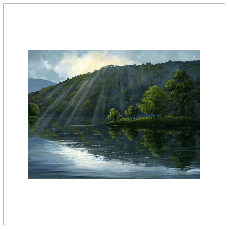 Morning Light, Rydalwater by John Wood