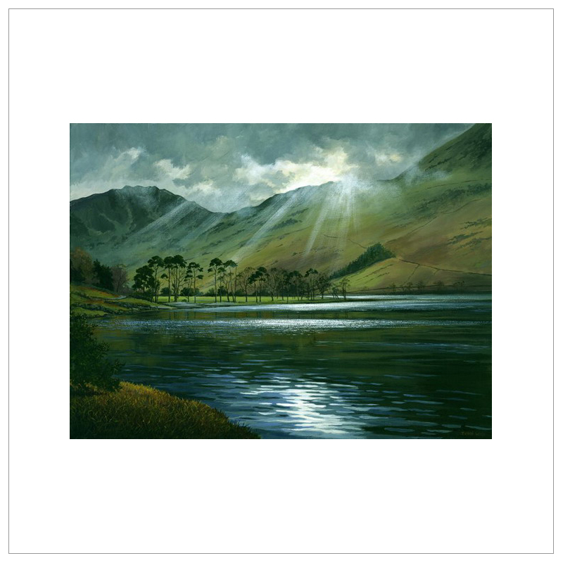 Reflections Buttermere by John Wood