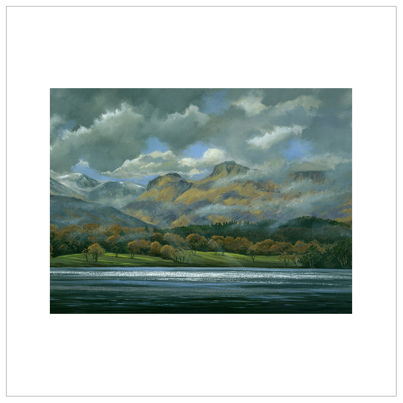 Langdale Pikes by John Wood