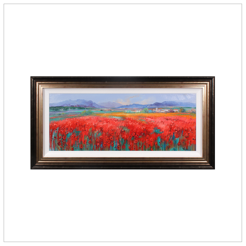 Poppies in the Valley by Miguel Torres