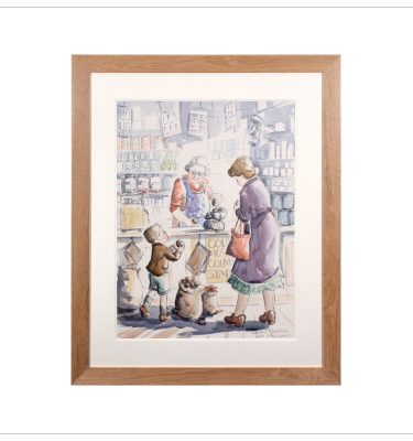 Shop Assitant by Margaret Clarkson