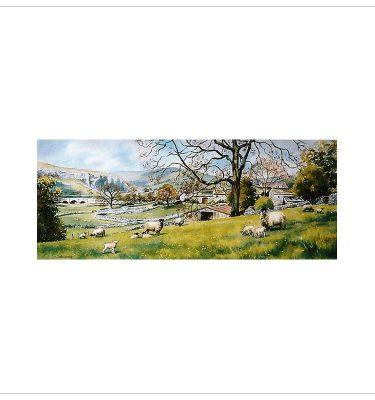Springtime Wharfdale by John Wood
