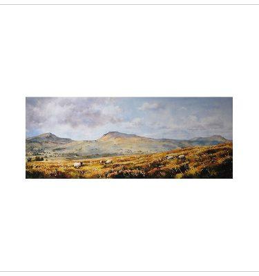 The Three Peaks by John Wood