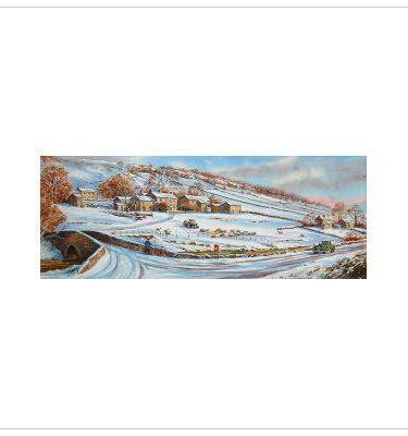 Winter in Wharfdale by John Woods