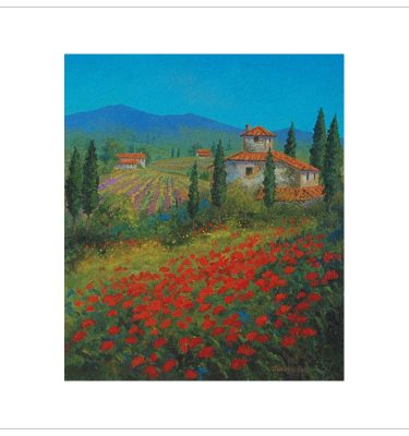 Poppies 2 by John Wood