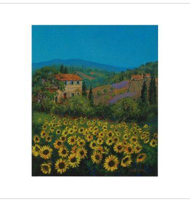 Sunflowers by John Wood