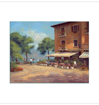 Torri Del Benaco by John Wood