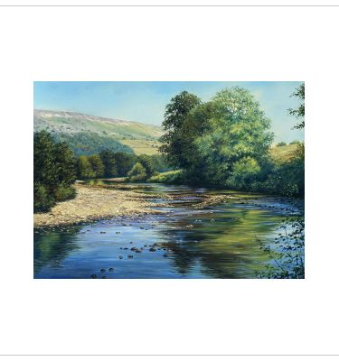 The Swale in Summer by John Wood