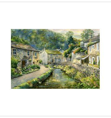 Cottages, Castleton by John Wood