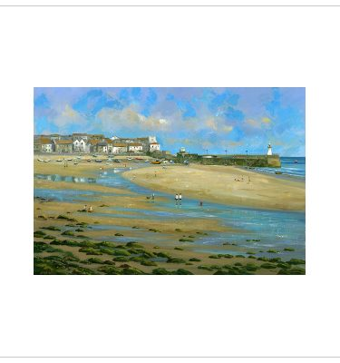 A Summers Day St Ives by John Wood