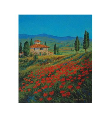 Poppies 1 by John Wood