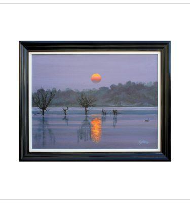 Serene Lake by Tony byrne