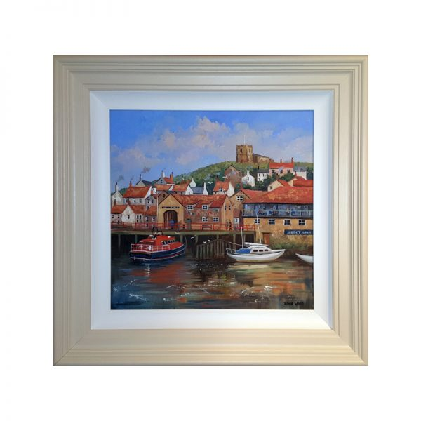 Summers Day Whitby by John Wood