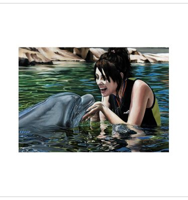 The Dolphin Whisperer by Tony Byrne