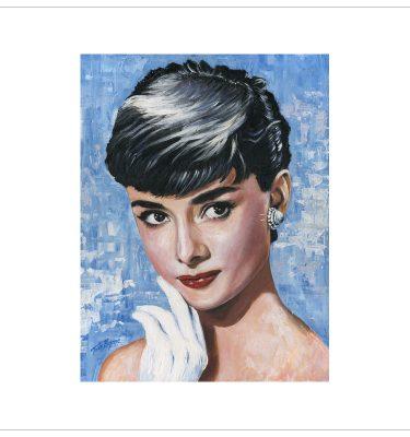 Audrey Hepburn by Tony Byrne
