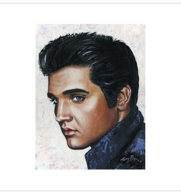 Elvis Presley by Tony Byrne