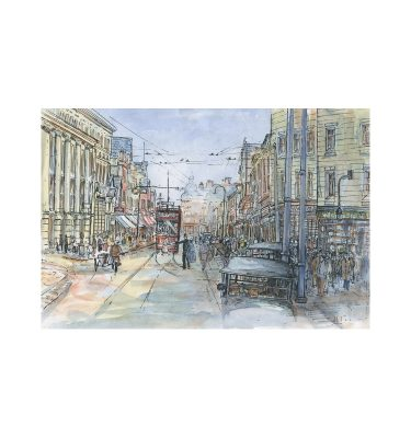 Doncaster High Street 1900 by John Bird