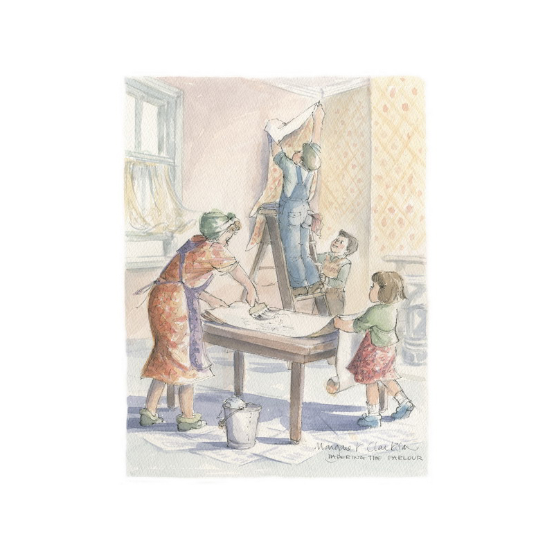 Papering the Parlour by Margaret Clarkson