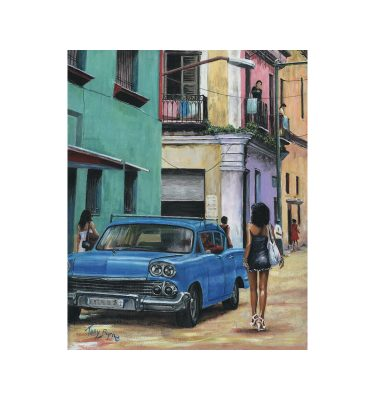 Havana Girl 2 by Tony Byrne