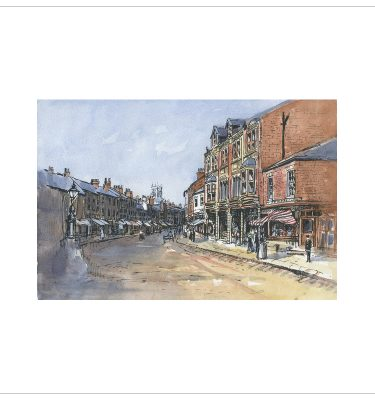 Doncaster St Sepulchre Gate by John Bird